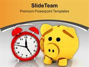 Savings Increases With Time PowerPoint Templates PPT Themes And Graphi