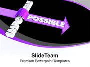 Success Is Possible PowerPoint Templates PPT Themes And Graphics 0513