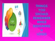 Things You Should Remember While Designing A Logo