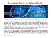 Corporate Profile of Extron Design