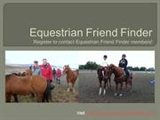 Equestrian Friend Finder