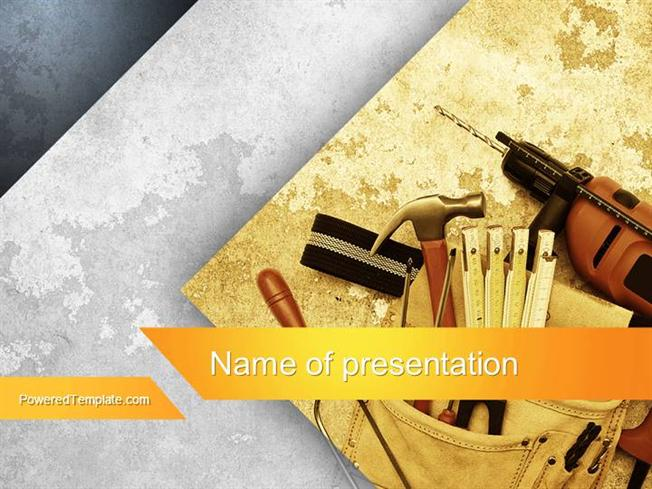 Makeup Tools Powerpoint Template |authorSTREAM