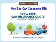 Car Insurance For 1 Day – Insurance Your Car For 1 Day
