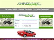 No Credit !  Bad Credit auto loan services are available...