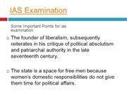 All about  IAS Examination.
