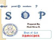 SOP by Nirav