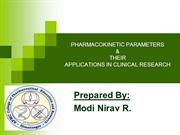 PHARMACOKINETIC by Nirav