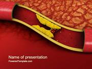 Cholesterol PowerPoint Template by PoweredTemplate.com