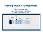 ELECTROPHORESIS FOR MEDICAL STUDENTS