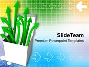 Diverging Arrows From Box PowerPoint Templates PPT Themes And Graphics