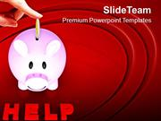 Donate And Save Money PowerPoint Templates PPT Themes And Graphics 051