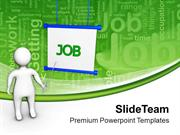 Giving Presentations For Job Career Development PowerPoint Templates P