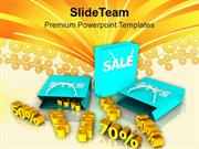 Sale Online Discounts And Shopping PowerPoint Templates PPT Themes And