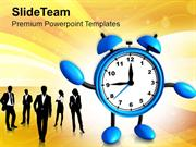 Time To Start Business Teamwork Concept PowerPoint Templates PPT Theme
