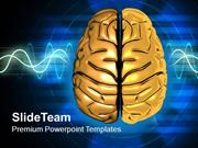 Visualization Of Human Brain PowerPoint Templates PPT Themes And Graph