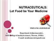 Nutraceuticals ppt
