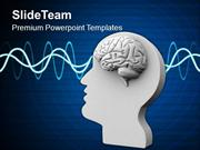 Human Mind Generates Mind Waves PowerPoint Templates PPT Themes And Gr