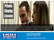 Singing Lessons Melbourne, Online Singing Lessons, Vocal Coaching