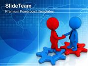 Make Good Relation With Clients PowerPoint Templates PPT Themes And Gr