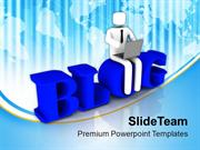Write A Blog For Social Benifit PowerPoint Templates PPT Themes And Gr