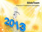 Enjoy New Year With  Happiness PowerPoint Templates PPT Themes And Gra