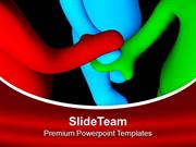 Follow The Concept Of Teamwork PowerPoint Templates PPT Themes And Gra