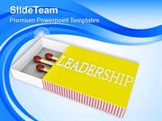 Leadership Is A Good Concept PowerPoint Templates PPT Themes And Graph