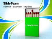 Make Yourself A Good Leader PowerPoint Templates PPT Themes And Graphi