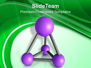 Molecular Stucture Of Material PowerPoint Templates PPT Themes And Gra