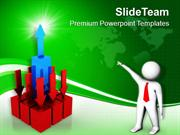Think In A Progressive Manner PowerPoint Templates PPT Themes And Grap