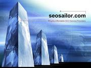 SEO Sailor Services and Tools