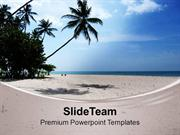 Beautiful Lonely Beach PowerPoint Templates PPT Themes And Graphics 05