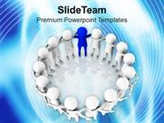 Effective Team Leader Business Thinking PowerPoint Templates PPT Theme