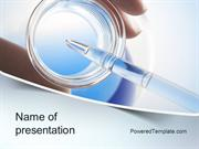 Chemical Analysis PowerPoint Template by PoweredTemplate.com