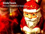 Santa Claus Christmas Theme PowerPoint Templates PPT Themes And Graphi