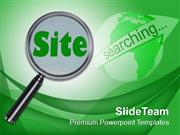 Searching The New Website Internet PowerPoint Templates PPT Themes And