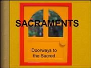 History of Catholic Sacraments