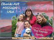 Good News Chalk Talk Mission USA 2013