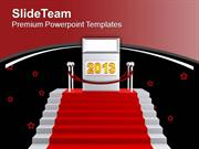 Achieve Targets This New Year PowerPoint Templates PPT Themes And Grap