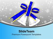 Blue Bells For Festival Theme PowerPoint Templates PPT Themes And Grap