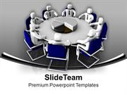 Discuss Business Matters In Meetings PowerPoint Templates PPT Themes A