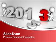 Enter In New Year 2013 PowerPoint Templates PPT Themes And Graphics 05