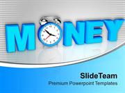Money Growth Is Depends On Time PowerPoint Templates PPT Themes And Gr
