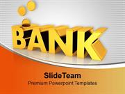 Save Your Money In Bank PowerPoint Templates PPT Themes And Graphics 0