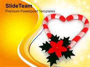 Assortment Of Best Christmas Candies PowerPoint Templates PPT Themes A