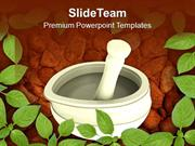 Ayurvedic Medicine Maker PowerPoint Templates PPT Themes And Graphics