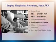 Empire Hospitality Recruiters, Perth, WA