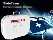 First Aid Box Medical Symbol PowerPoint Templates PPT Themes And Graph