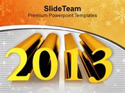 2013 Comes With Lot Of Happiness PowerPoint Templates PPT Themes And G