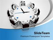 Arrange Time Bound Business Meetings PowerPoint Templates PPT Themes A